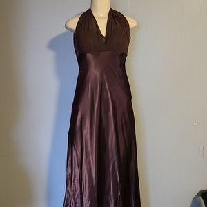 David's Bridal Chocolate Dress NWT
